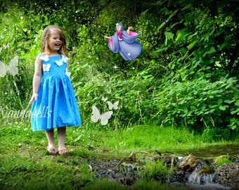 Cinderella with Butterflies Inspired by Cinderella the Movie 2t - 8 girls - Product ID #CBICM200