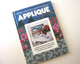 Vintage Applique Book from Better Homes and Gardens