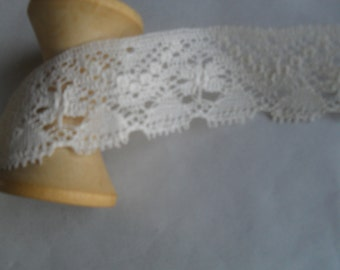 Lace Sweet NOS Off White Cotton
