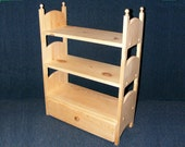 """Stackable Triple Doll Bunk Bed with Trundle Storage Drawer 18"""" American Girl Furniture"""