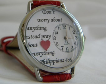 Christian Watch with Philippians 4:6