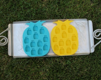 Pineapple Ice Cube Tray, Candy Mold, Pineapple Mold, Clay Mold, Sillicone Pineapple Mold
