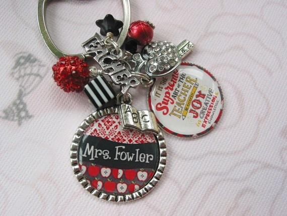 Teacher's  Keychain, end of year gifts, appreciation day gifts