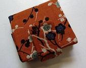 sale 50% off - bibi bifold pocket wallet - with long pocket for money- magnetic snap closure