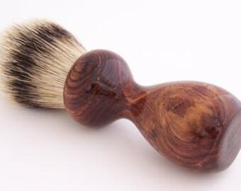 Honduras Rosewood 24mm Super Silvertip Badger Hair Shaving Brush Handle (Handmade in USA) H1