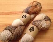 Heartwood Caela Superwash Merino Nylon Fingering Weight Hand Dyed Yarn
