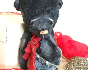 Artist bear made to order by Sylvie Touzard