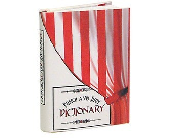 Punch and Judy Dictionary - Bo Press Miniature Books