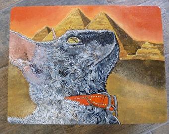 Egyptian Sphynx Cat Box