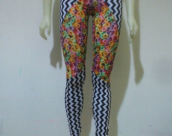 2 LEFT  Breakfast Cereal / Zig Zag Leggings