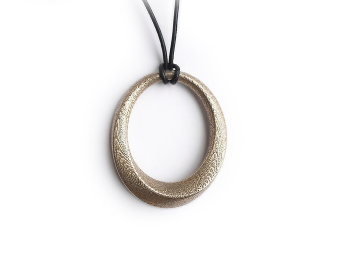 Infinity Pendant Forever Loop Necklace
