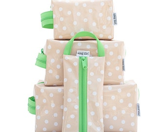 Complete Set of Oilcloth Bags