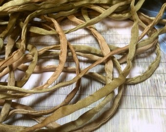 4mm hand rolled silk string/ cord Jewelry- hand dyed in Montano