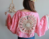 Crochet Flower Cut Out Vi...