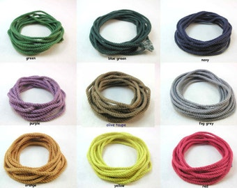 colored cord for Hannah G 3879