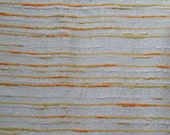 70s gold Shantung drapery fabric sold by the yard