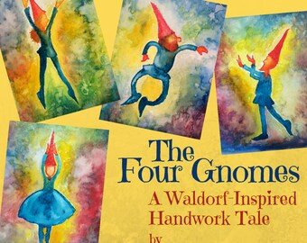 Four Gnomes Handwork eBook - Story Song and Verse