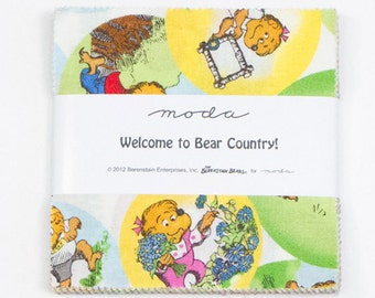 Welcome to Bear Country Charm Pack