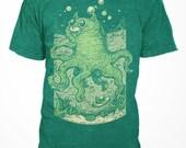Octo-Pussy - Unisex T-shirt - Tri-Blend - S M L XL