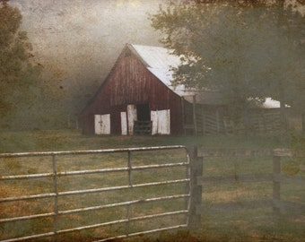 Rustic Barn fine art photography print (free shipping)