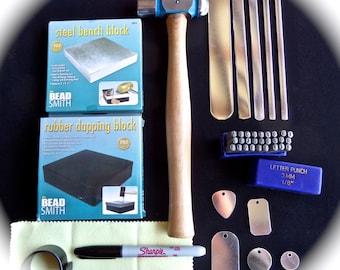 BEST Metal Stamping Jewelry Starter Kit