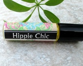 Hippie Chic Roll On Perfume, patchouli, sandalwood, violet and more, concentrated vegan formula