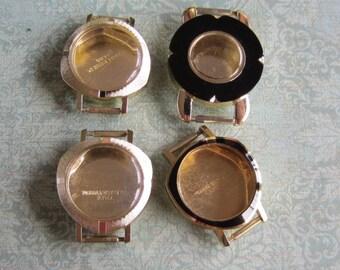 Vintage  Watch parts - watch Cases -  Steampunk - Scrapbooking  j66
