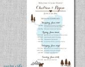 Lake Tahoe Wedding Itinerary C...