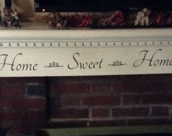 home sweet home vinyl decal