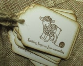 Knitting Tags for Your Hand Knit Projects, Cute Knitting Tags