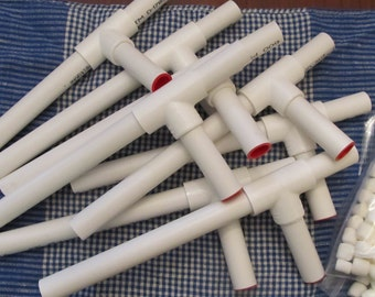 6 marshmallow shooters for party favors or sleepovers