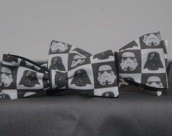 Father-Son Matching Star Wars Imperial Staff Mens Bow tie