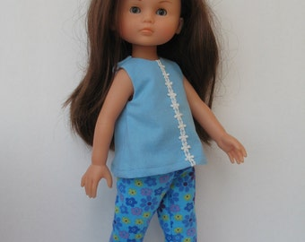 Clothes for Corolle Les Cheries, Paola Reina Doll Top and Pants