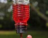 Salt shaker hummingbird feeder and Window Hanger for Feeder