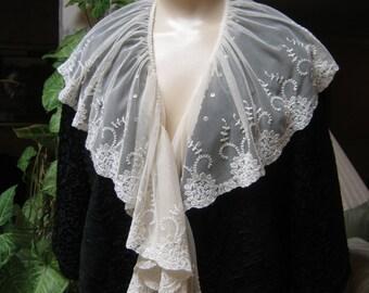 RESERVED FOR MARIE black silk short jacket, black 'curly' silk short evening jacket, black silk jacket to repurpose, furrier's jacket