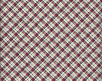 Price Reduced!  Red Plaid (35314-4) - BTY - Windham