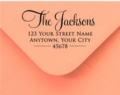 Self Inking Personalized Return Address Stamp - Custom Rubber Stamp R286
