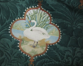 Linderhof by Osborne and Little swan design fabric