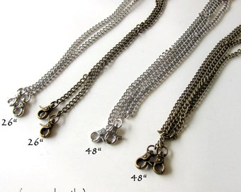Add an EXTRA Chain to your clutch - One Chain