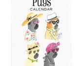 2016 Calendar - 2016 Pugs Calendar by Lydia & Pugs