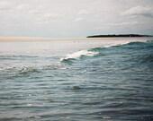 Beach Photography, Ocean Photography, Sea Blue, Dark Teal Blue, Ocean Landscape, Nature, Coastal Art, Seascape, Seaside, Ocean Waves, Calm