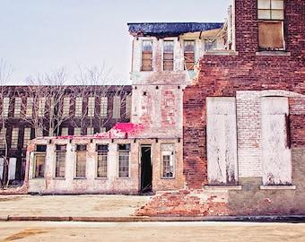 Decay Photography, Duffy Silk Mill, Buffalo Photography, Buffalo NY, Urban Decay, Abandoned, Urbex, Industrial, Factory, Brick, Old