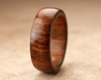 Size 7.75 - Tamboti Wood Ring No. 214
