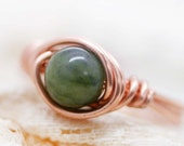 Bocailu - Taiwan jade wrapped ring (SR)