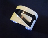 OOAK New Jersey License Plate Cuff Bracelet