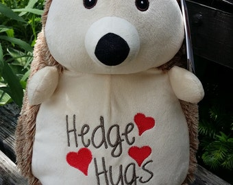 personalized baby gift, personalized plush, stuffed plush Hedgehog, stuffed animal, Hedgehog, keepsake embroider buddy, best baby gift ever