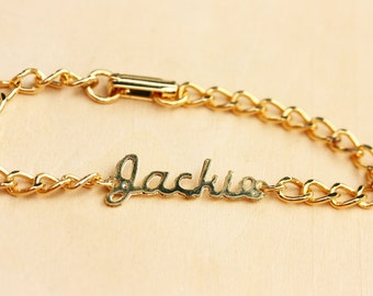 Name Bracelet Jackie, Jackie Bracelet, Name Bracelet