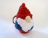 Garden Gnome eos Lip Balm Holder - Crochet Lip Balm Cozy - Gary the Garden Gnome
