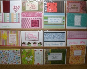 25 card assortment, my choice, cards will vary in each pack