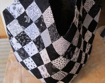 Black and White Mondo Bag